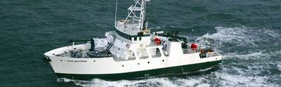 R/V Cape Hatteras: Photo courtesy of DUNCOC