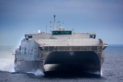 USNS Spearhead: Photo credit USN