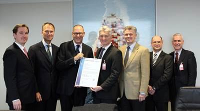 DQS Certificate Award: Photo credit GL Group