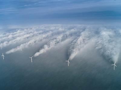 Wind Farm: Image courtesy of NOAA