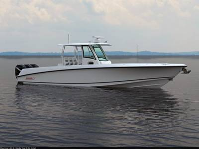 Motor Yacht 350 Outage: Photo credit Boston Whaler