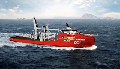 DOF Subsea Vessel: Image credit DOF Group