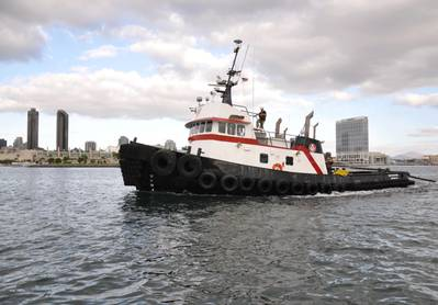 Tugboat Northern Mariner: Photo credit Pacific Tugboat Service