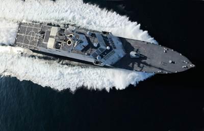Littoral Combat Ship: Image credit Rolls-Royce