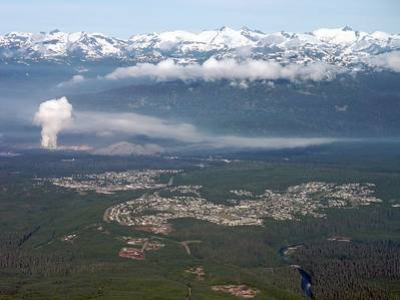 Kitimat BC: Photo credit Wiki CC2 Sam Beebe / Ecotrust