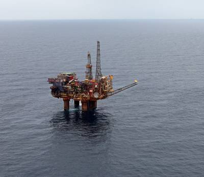 Cormorant Alpha Platform: Photo credit TAQA