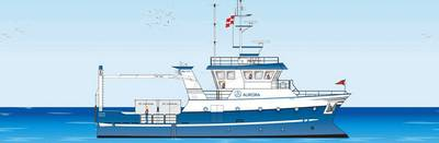 R/V Aurora: Image credit:  University of Aarhus, Science and Technology