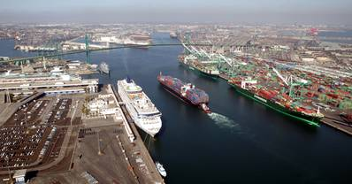 Photo: The Port of Los Angeles