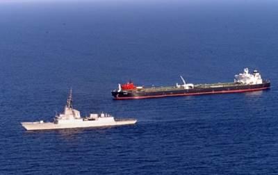 Warship Escorts MV Smyrni: Photo credit EUNAVFOR