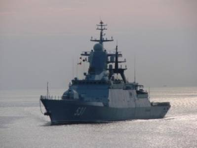 Russian Navy  Project 2-380 corvette: Photo credit Russian Navy