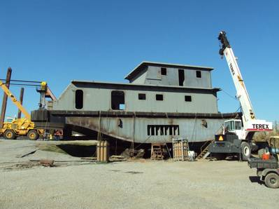 Photo courtesy of Eymard Marine Construction and Repair