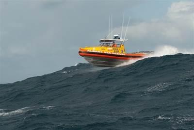 RIB on a Wave: Photo credit FRC