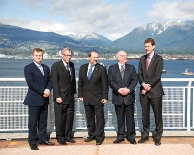Tankship Safety Announcement: Photo credit Canadian Government