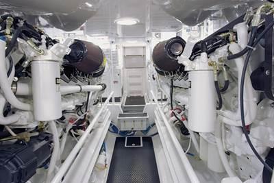 Twin-engine Plant: Photo credit Caterpillar