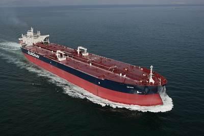 Tankship 'Devon': Photo courtesy of Euronav