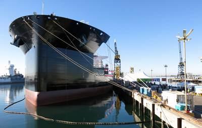 USNS Montford Point: Photo credit NASSCO