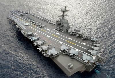 Carrier CVN 79: Artist's impression courtesy of NNS
