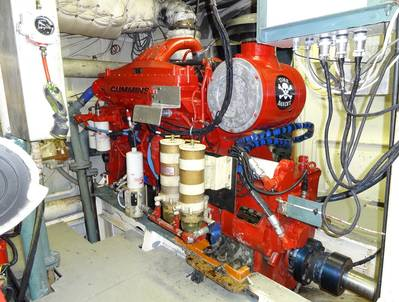Starboard Engine 'Time Bandit': Photo courtesy of the Hillstrand family