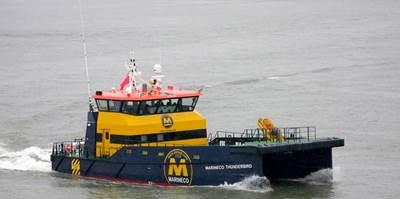 'Marineco Thunderbird': Photo credit Damen Shipyards