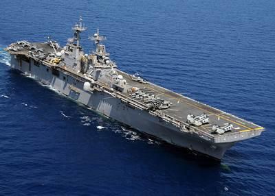 USS Essex: Photo source USN