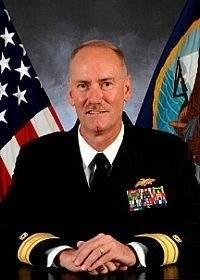 Rear Admiral Kevin R. Slates: Photo credit USN