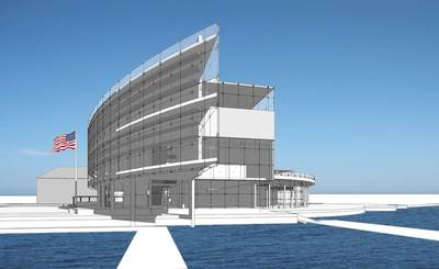Proposed National Coast Guard Museum: Image credit USCG
