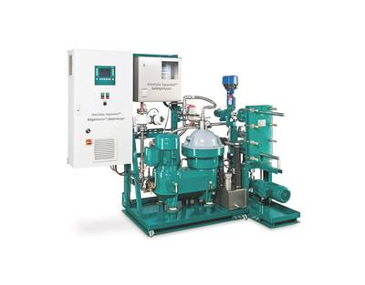 In bilgewater processing, the GEA Westfalia Separator BilgeMaster cleandesign is now able not only to achieve a value below 15 ppm oil in water a but even to guarantee below 5 ppm – with no use of chemicals and no filters.