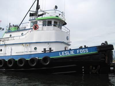 Tugboat Leslie Foss: Photo credit Marcon International
