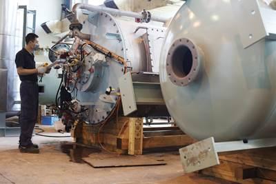 Inert Gas System Units: Photo credit Wärtsilä