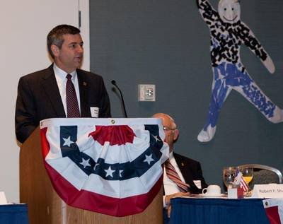 HII President & CEO Mike Petters: Photo credit HII