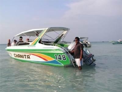 Typical Pattaya Speedboat: Photo credit Wiki CCL