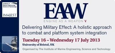 EAAW V Flier: Image credit IMarEST