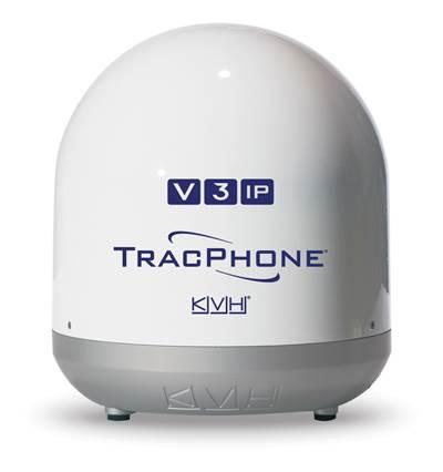 TracPhone V3-IP: Image credit KVH