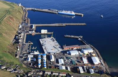 Scrabster Harbour, Caithness, Scotland