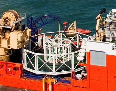 Carousel Cable System: Photo Oceanteam
