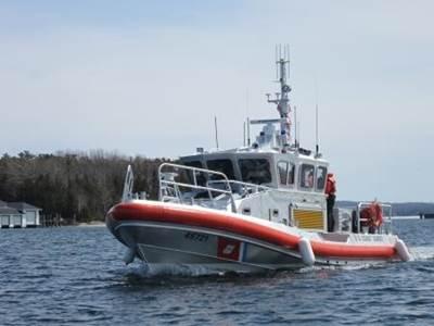 The New 45-ft Response Boat: Photo courtesy of USCG