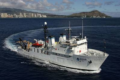 NOAA 'Hiialakai': Photo courtesy of NOAA
