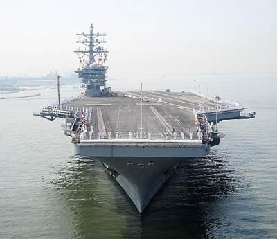 USS Dwight D. Eisenhower: Photo credit USN
