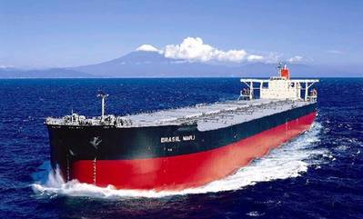 Iron Ore Carrier: Photo courtesy of MOL