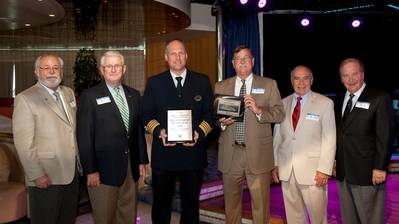 Welcoming Ceremony: Photo credit Canaveral Port Authority