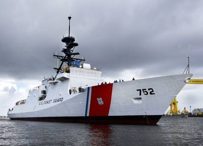 Cutter 'Stratton': Photo credit USCG