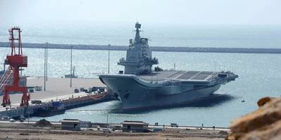 Aircraft Carrier 'Liaoning': Photo courtesy of China Govt.