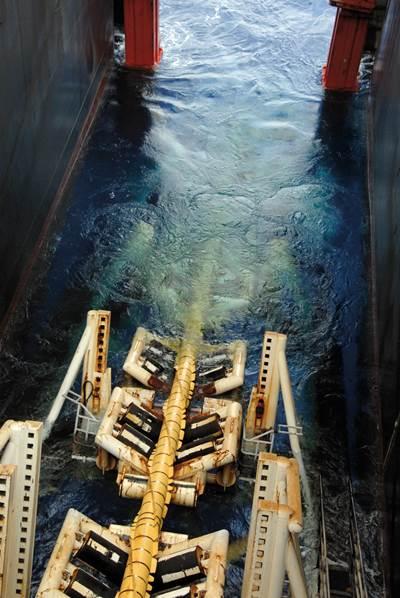Tata Steel pipe laying