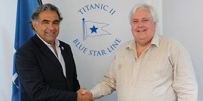 Andrea Zito & Clive Palmer