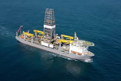 Drillship 'Deepwater Champion': Photo credit Rolls-Royce