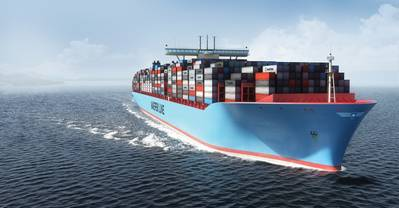 Triple-E Class Container Ship: Image courtesy of Maersk