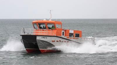 'Linz S' at Alnmaritec during sea trials