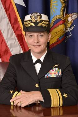 Rear Admiral Wendi Carpenter, USMS, President, SUNY Maritime College (Photo: SUNY Maritime)