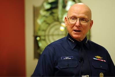 U.S. Coast Guard Commandant Bob Papp (file photo)