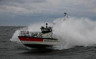 Finnish Lifeboat - Image by Jaakko Pitkäjärvi